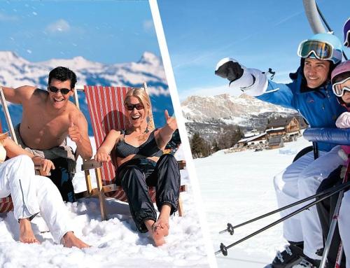 Туристы из России продолжают отдыхать на горнолыжных курортах Италии: коронавируса нет